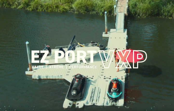 EZ PORT VXP FLOATING JET SKI DOCK