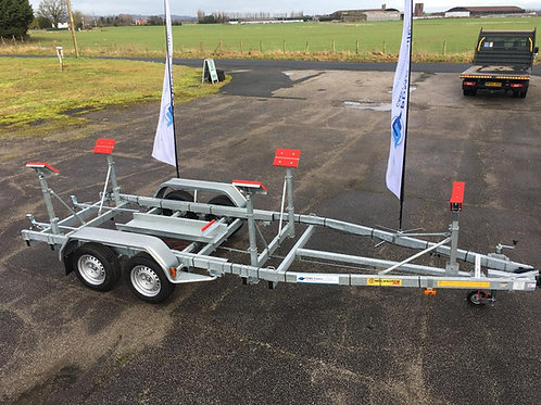 MTV 1722F Trailer (Max Boat Weight - 1620kg   Max Boat Length 9.3m)