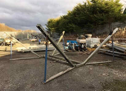 Used Yacht Cradles