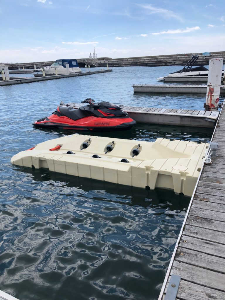 EZ PORT INTEGRATED BOW JET SKI DOCK