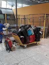S12 Electric Tow Tug Luggage Trolley