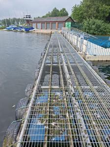 used pontoon