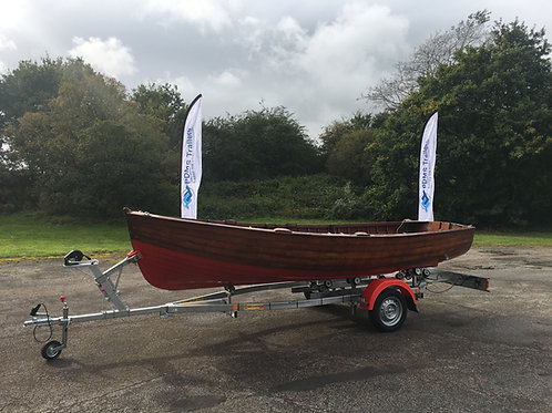 VX75 Unbraked Trailer (Max Boat Weight - 530kg | Max Boat Length 6m)