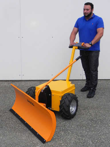 Multi-Mover L25 With Snow Plough