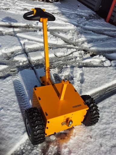 Multi Mover L25 In Snow