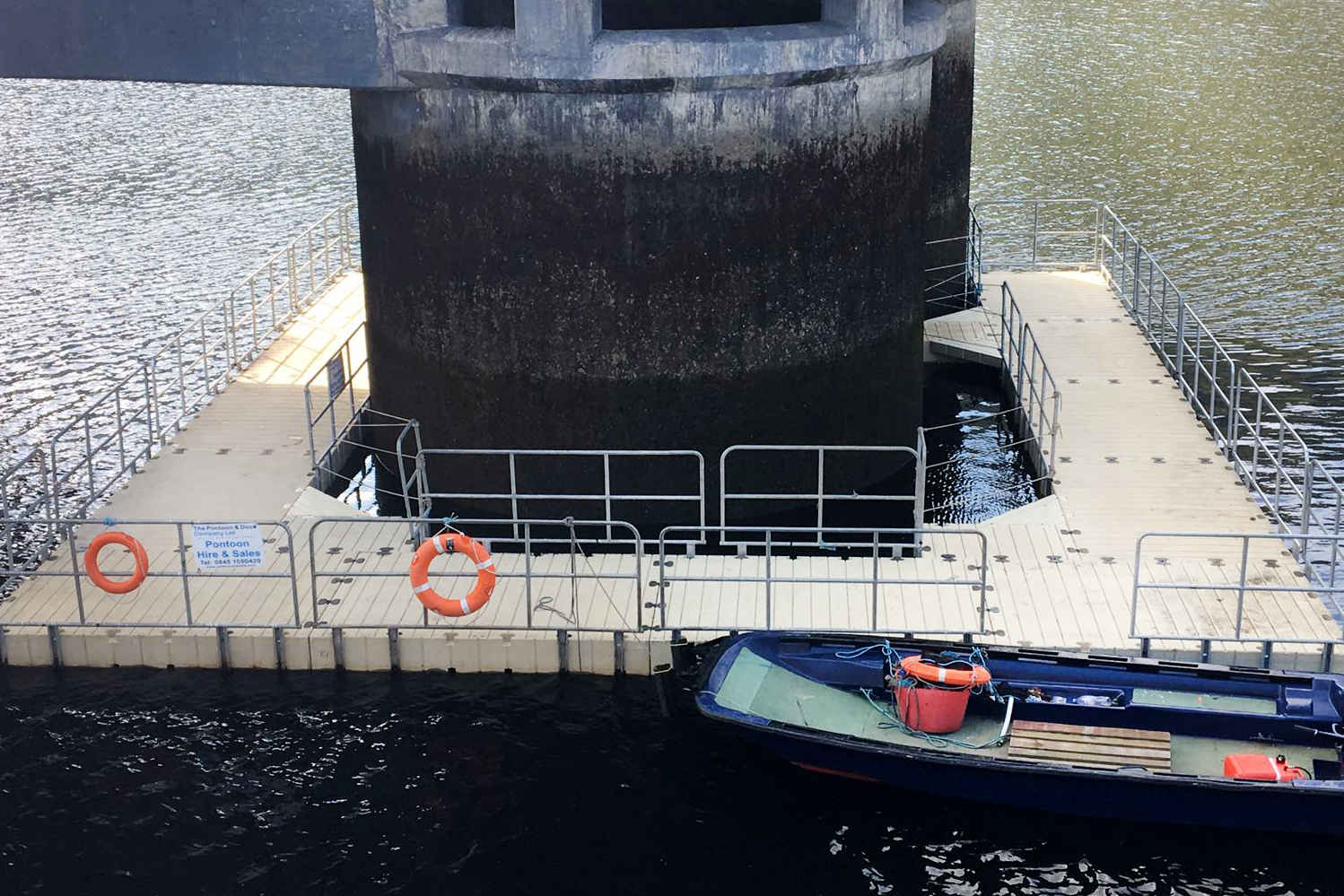 COMMERCIAL PONTOON & SAFETY BOAT HIRE