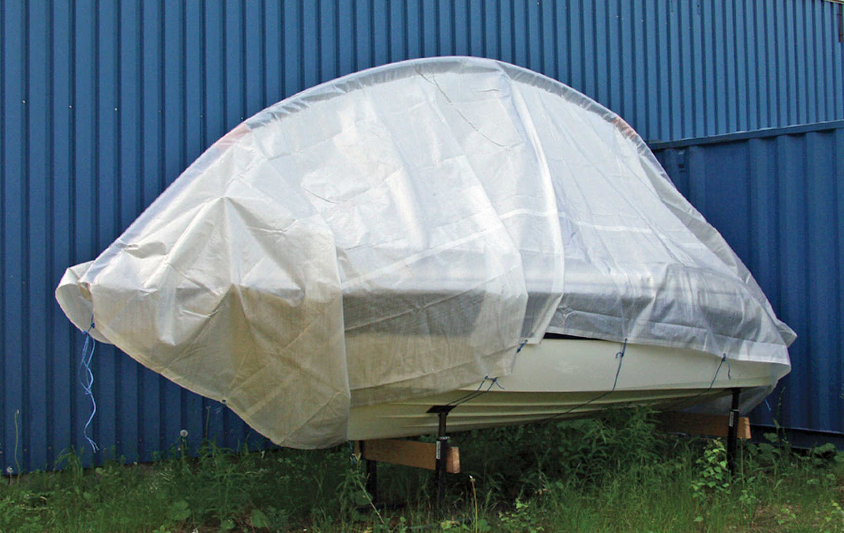 EASYTEC WINTER BOAT COVER