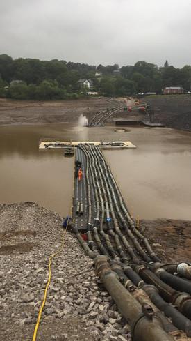 Whaley Bridge Dam Stabilisation Works