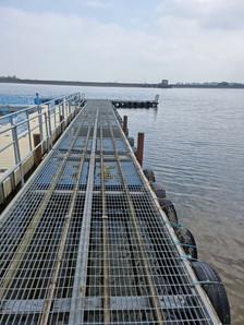used steel pontoon