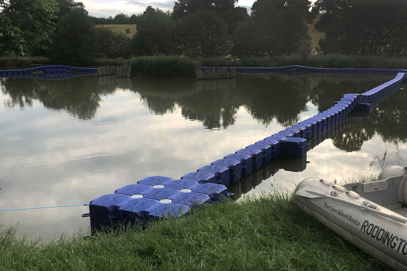 P&D3 CUBE PONTOON TRACK
