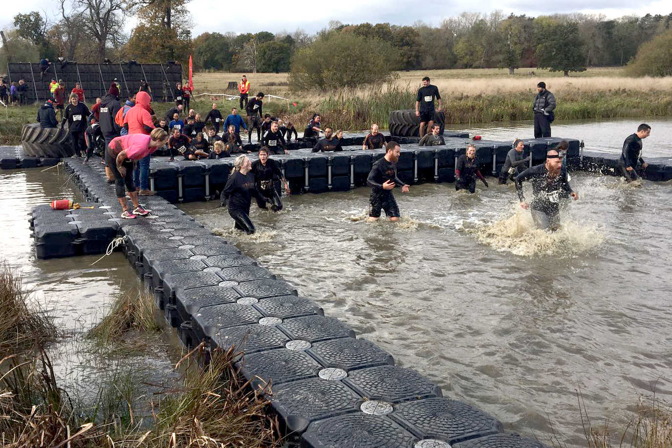 P&D3 CUBE PONTOON FOR MUD RUN