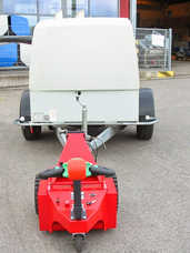 Multi-Mover XL35 Towing Small Caravan