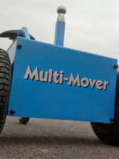 Multi-Mover M18 Tyre Clearance