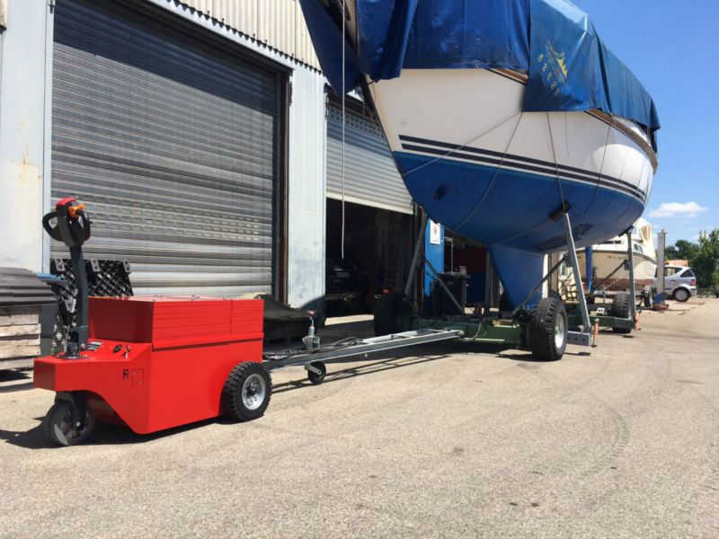 Multi-Mover XXL20T Boating Trailer