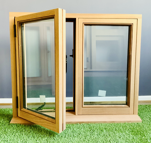Sapele Traditional Casement Windows