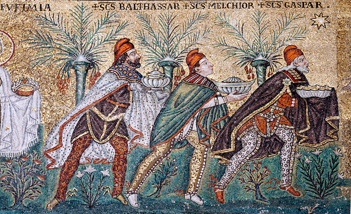 Reyes Magos Metafísica San Apollinare Nuovo
