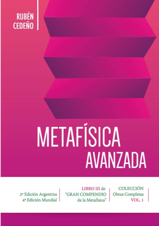 Metafísica Avanzada de Rubén Cedeño