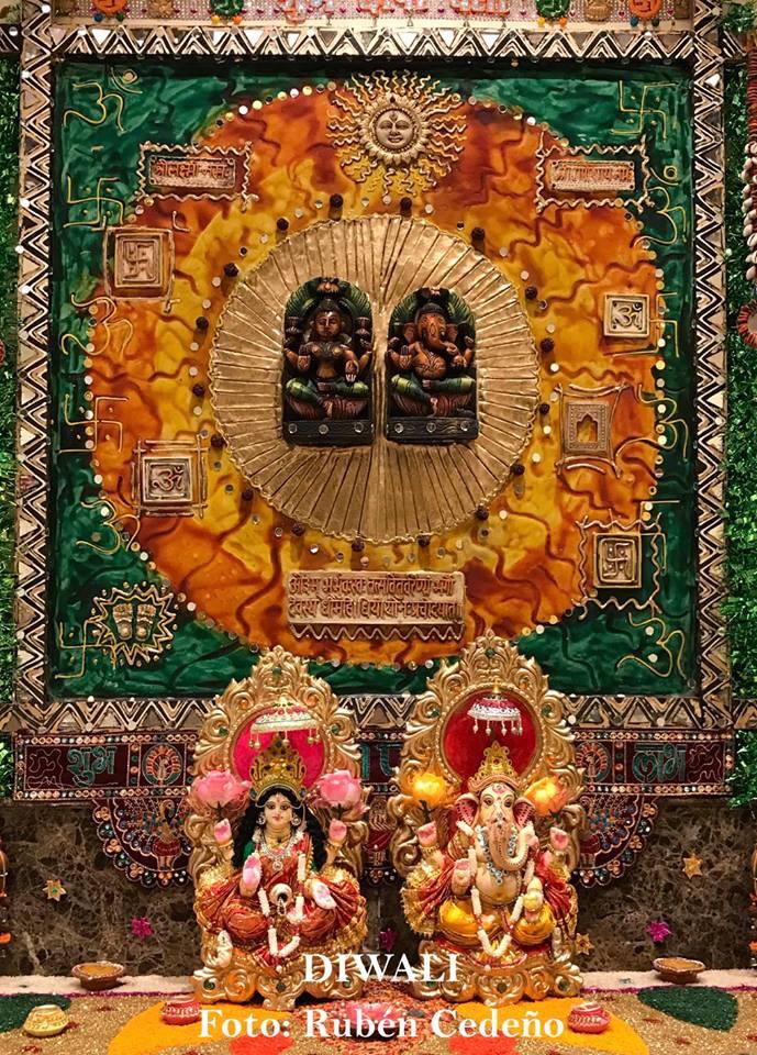 Festival de la Luz Diwali India Rubén Cedeño