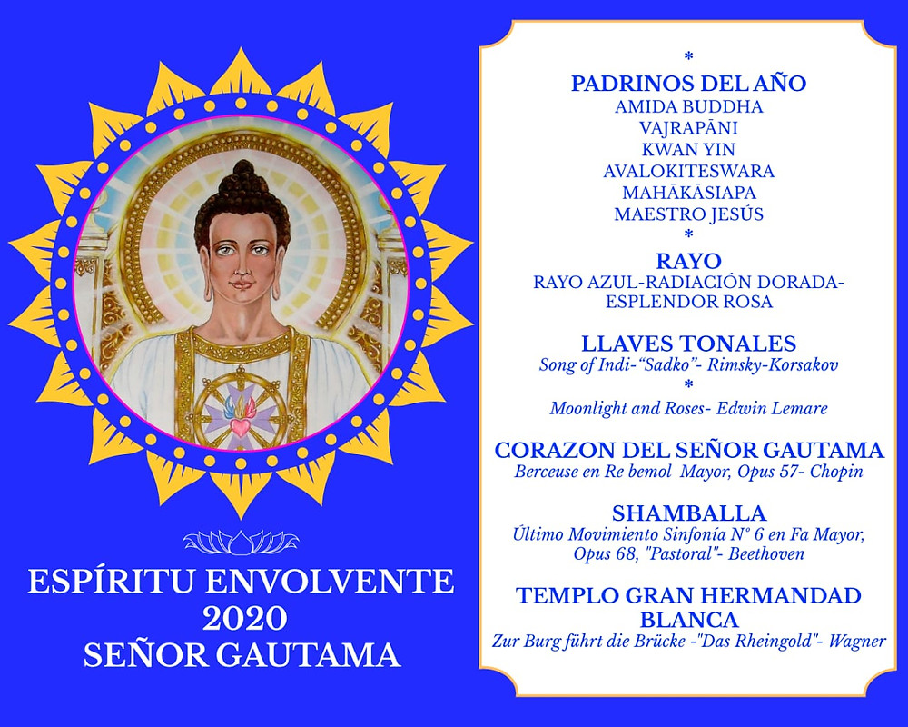 Señor Gautama Espíritu Envolvente 2020 Metafísica