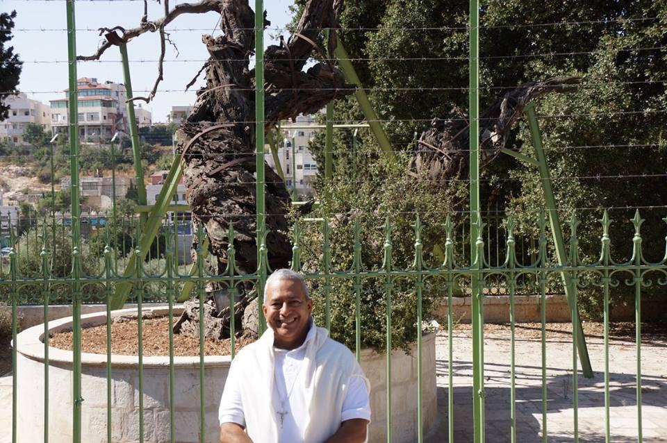 Rubén Cedeño en Mambré