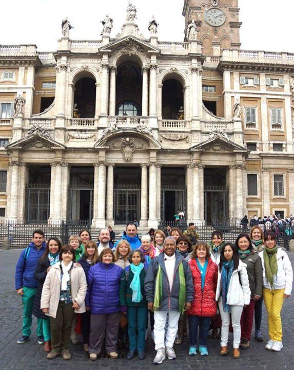 Metafísica Roma Italia Basilica Santa Maria Maggiore