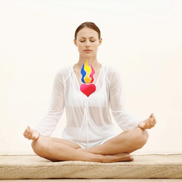 Meditación Llama Triple