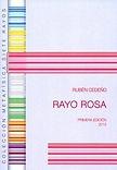 Libro Rayo Rosa Rubén Cedeño
