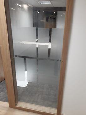 Adesivo jateado para porta de vidro,jateado para blindex, jateado para portas e janelas de vidro.