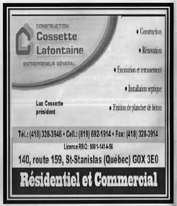 Cossette Lafontaine
