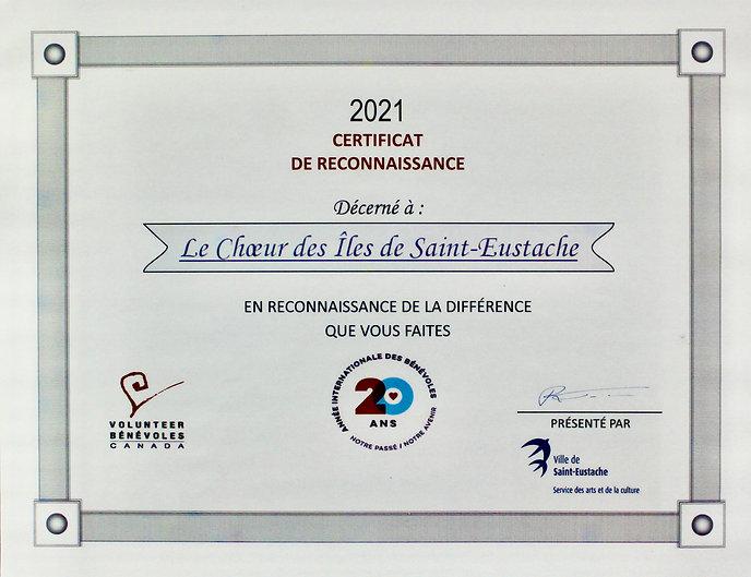 Reconnaissance 2021