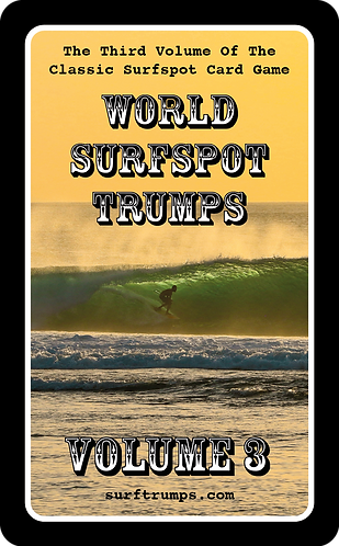 World Surfspot Trumps Volume 3 (5060783180028)