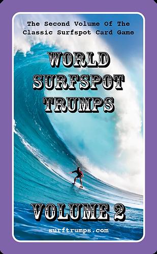 World Surfspot Trumps Volume 2 (5060783180011)