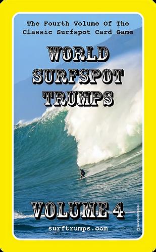 copy of World Surfspot Trumps Volume 4 (5060783180035)