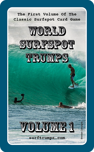 World Surfspot Trumps Volume 1 (5060783180004)