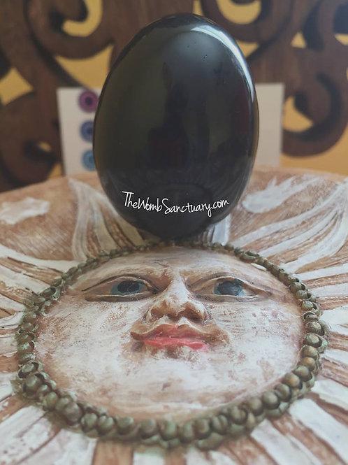 Black Obsidian Yoni Egg