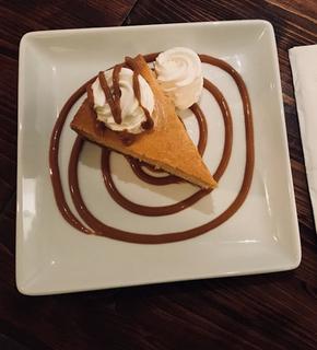 Pumpkin Cheesecake mmm!