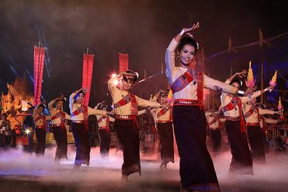 Candle Festival Dancers