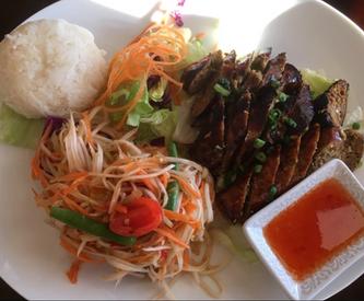Locally-made Thai Sausage