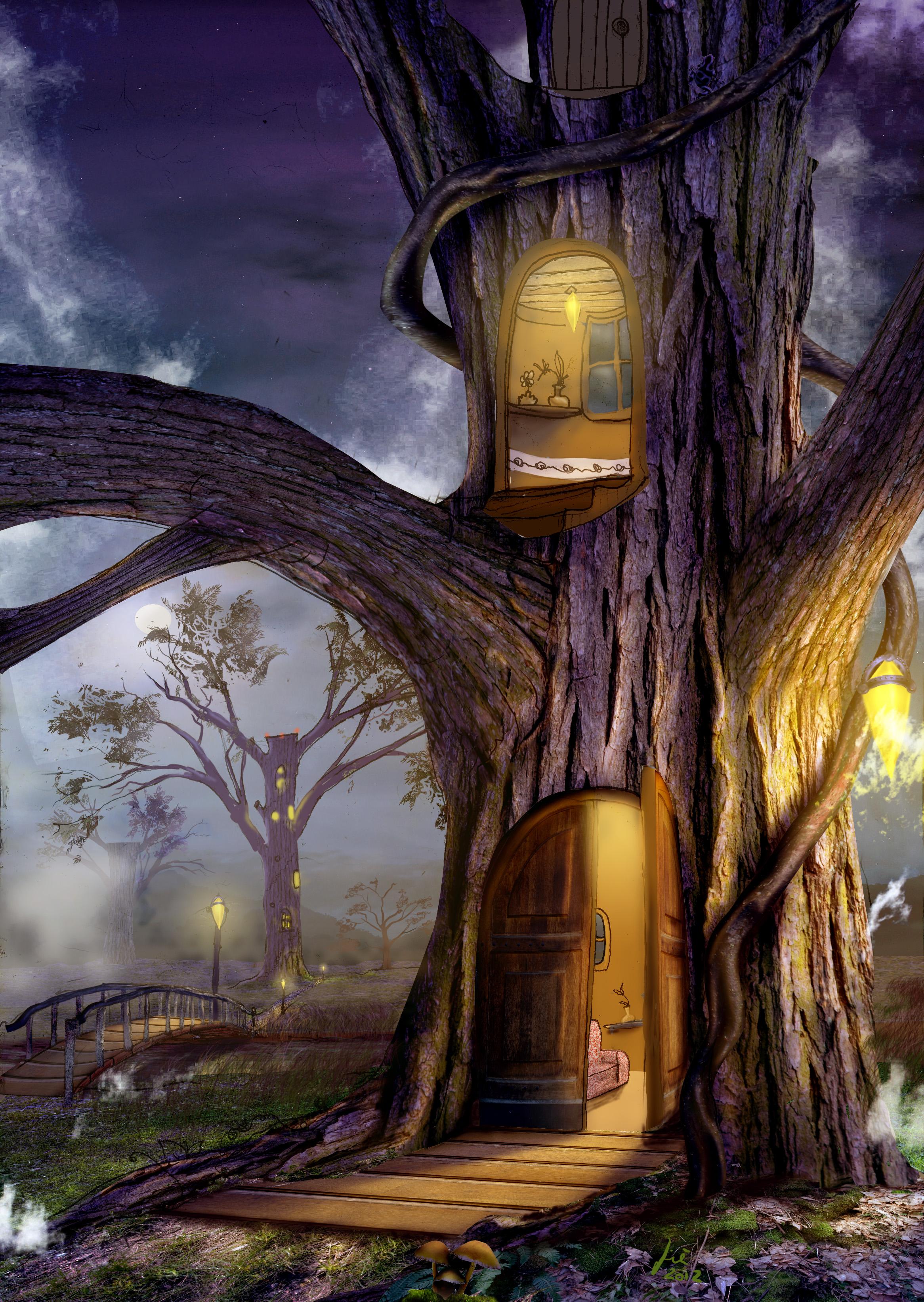 Árvore Casa Noturna