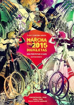 marcha das 2015 bicicletas