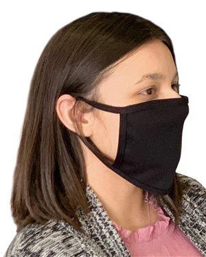 Bayside - USA-Made 100% Cotton Face Mask - 50pcs