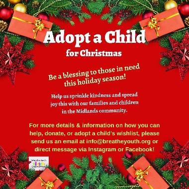 Breathe Youth Christmas Assistance Program