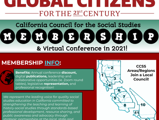 Is your CCSS membership current?