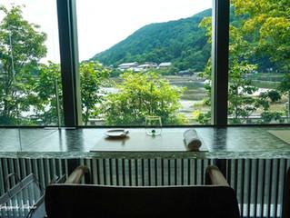 大人女子旅京都 夏の嵐山で味わうアランデュカスの世界 @  MUNI LA TERRASSE / MUNI KYOTO