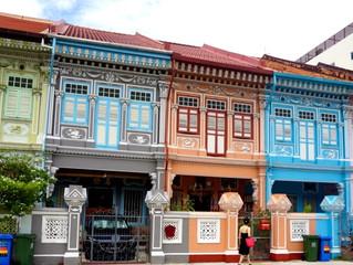 メンタルタイムトラベル<シンガポール2> プラナカンハウス Koon Seng Road & Joo Chiat Road