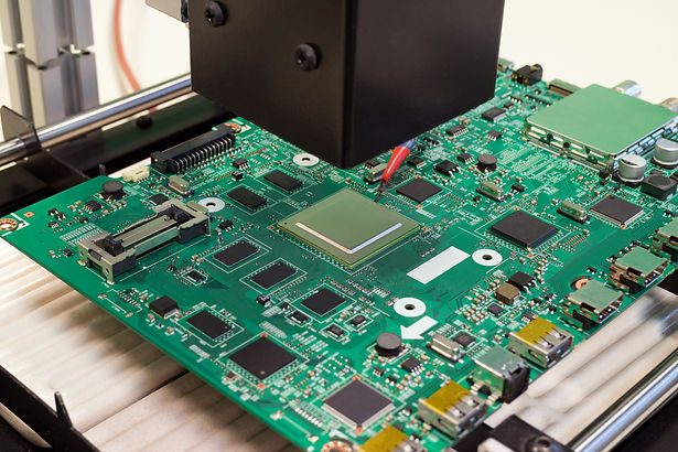 repair electronic circuit Board on infra