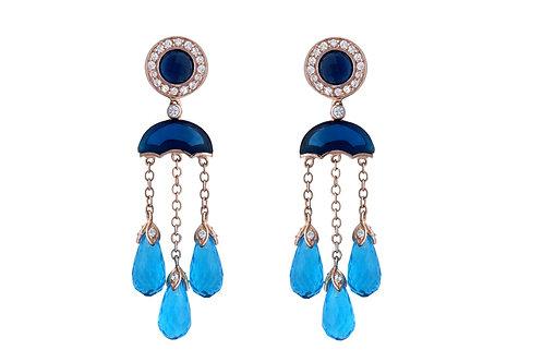 Blue Mystical Droplets