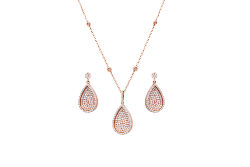 Embellished Teardrop - Set