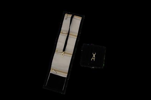 Jewellery Pouch - Medium (Black)