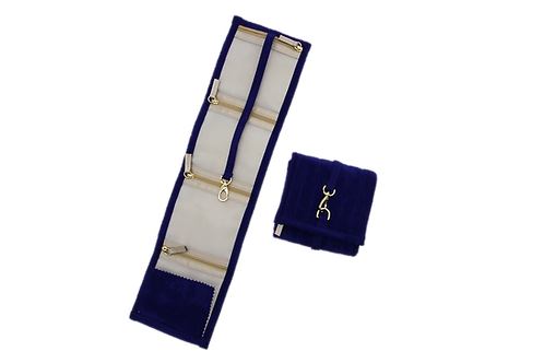 Jewellery Pouch - Medium (Royal blue)